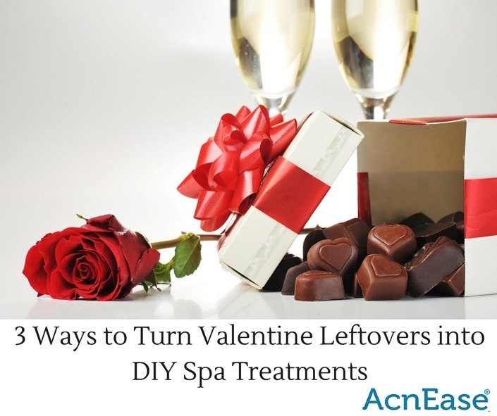 3 Ways to Turn Valentine Leftovers into DIY Spa Treatments