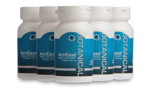 Acnease Moderate Acne Treatment - 5 Bottles (Bundle)