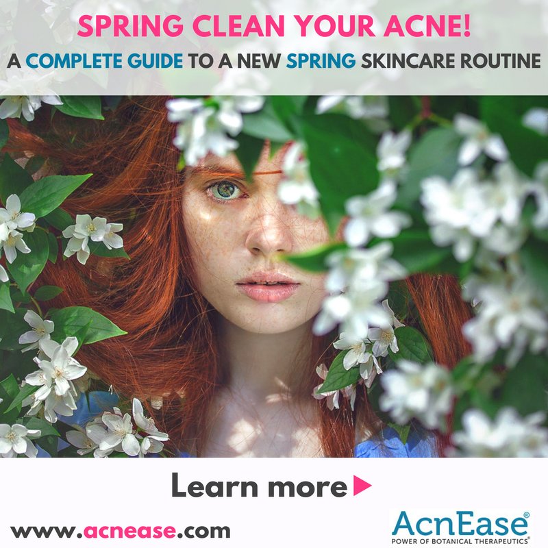 Spring clean your acne!