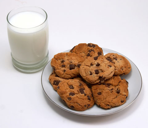 Milk and Cookies? Oh NO! They really ARE bad for your skin!