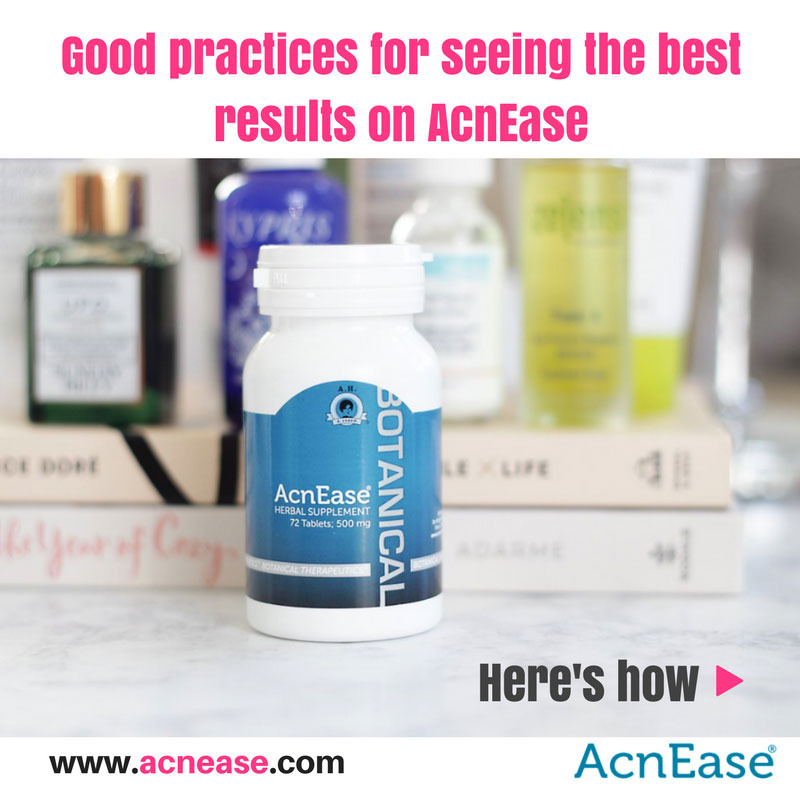 AcnEase: A Good Practices Guide to Keep in Mind While on Your Treatment