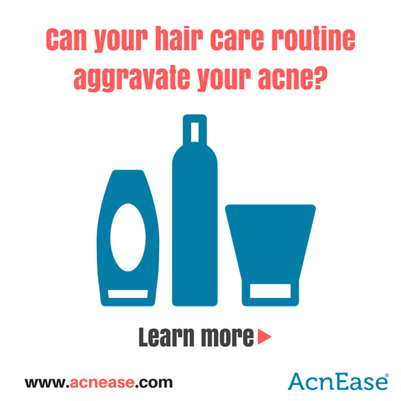 5 Ways To Ensure Your Hair Care Routine Doesn't Aggravate Your Acne