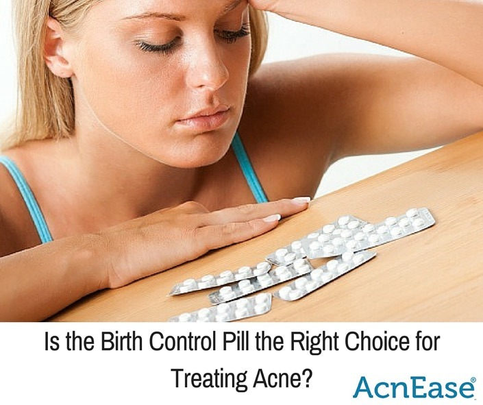 Is Birth Control Pill The Right Choice For Treating Acne