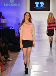 One of our AcnEase success stories is now walking the runways in NYC!