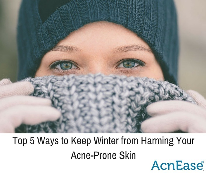 Top 5 Ways to Keep Winter from Harming your Acne Prone Skin