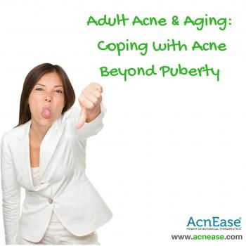 Adult Acne and Aging:  Coping With Acne Beyond Puberty