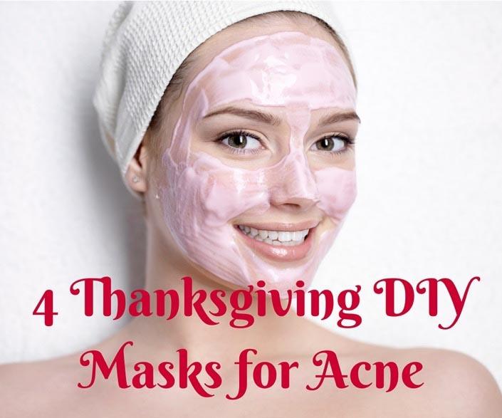 4 Thanksgiving DIY Facial Masks for Acne
