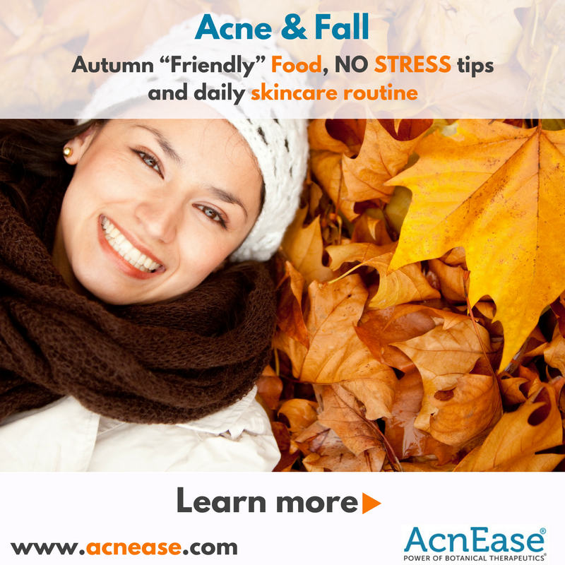 Special tips: How to control your acne during fall