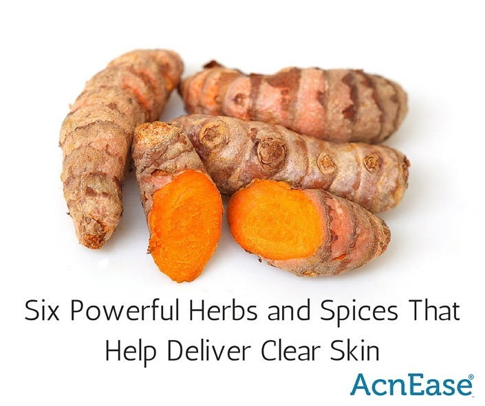 Six Powerful Herbs and Spices That Help Deliver Clear Skin [DIY MASKS]