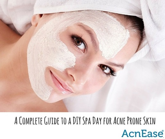 A complete guide to a diy spa day for acne prone skin blog for Acne salon treatments