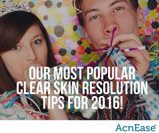 Our Most Popular Clear Skin Resolution Tips for 2016! | Blog