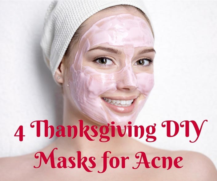 4 Thanksgiving DIY Facial Masks for Acne