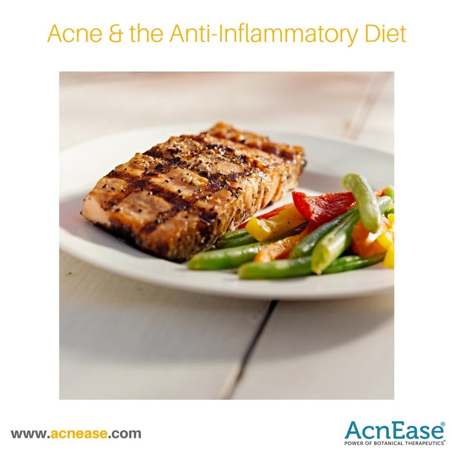 Acne and the Anti-Inflammatory Diet