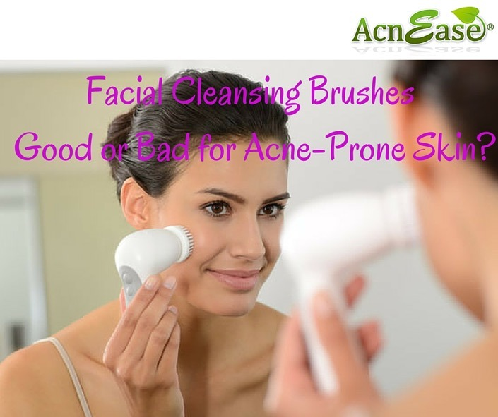 Facial Cleansing Brushes: Good or Bad for Acne-Prone Skin?