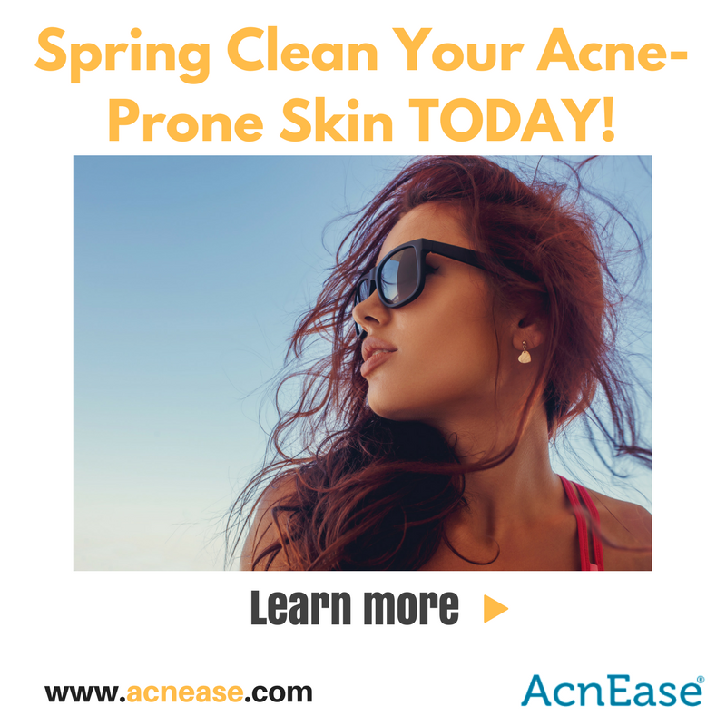 How to Give Your Acne-Prone Skin a Good Spring Cleaning!