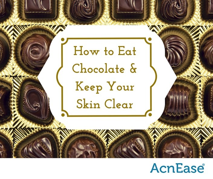 How to Eat Chocolate and Keep Skin Clear!