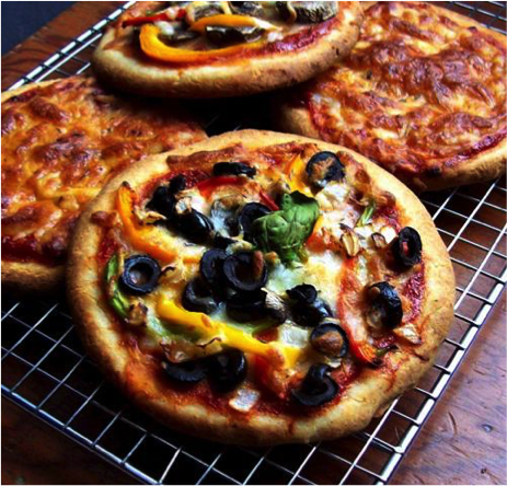Veggie Pizza Delight
