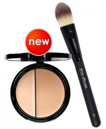 Dual Foundation & Foundation Brush For Acne Prone Skin To Cover Acne, Marks And Scars