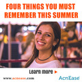 Have Adult Acne? FOUR  THINGS YOU MUST REMEMBER THIS SUMMER